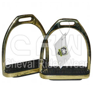 CRW | Brass Fillis Stirrups CRW-2215