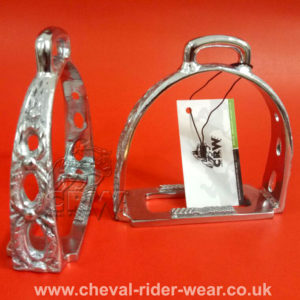 TRADITIONAL PORTUGUESE STIRRUPS / BAROQUE STIRRUPS / SPANISH STIRRUPS / METAL STIRRUPS
