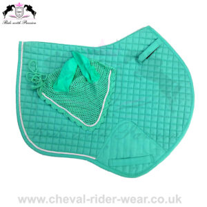 Horse Jumping Saddle Pads Matchy Matchy Set Turquoise