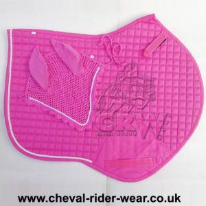 Jumping Saddle Pad Pink