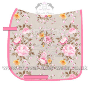 Digital Print Saddle Pads