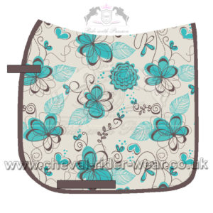 Digital Print Saddle Pads CHEVAL RIDER WEAR