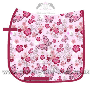 Dressage Saddle Pads Digital Print CHEVAL RIDER WEAR