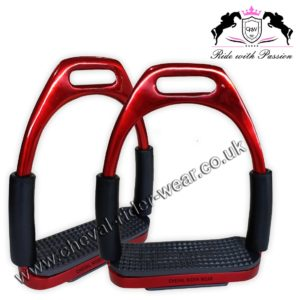 Flexible Stirrups Red Rose