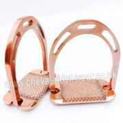Rose Gold Stirrups Aluminium