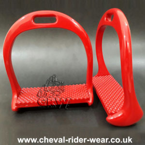 New Lightweight Aluminium Stirrups RED