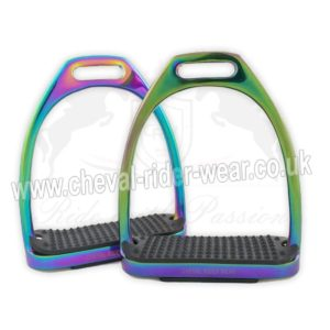 Rainbow Gloss Fillis Stirrups Irons CRW