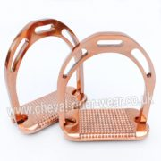 NEW Rose Gold Stirrups Aluminium