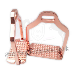ROSE GOLD STIRRUPS CRW
