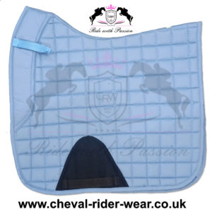 Dressage Saddle Pads Sky Blue CRW