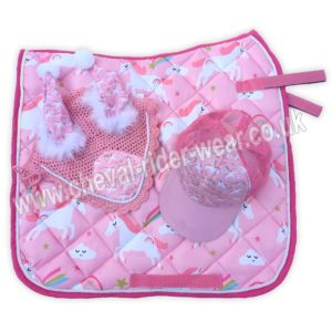 Matching Saddle Pad Sets Unicorn