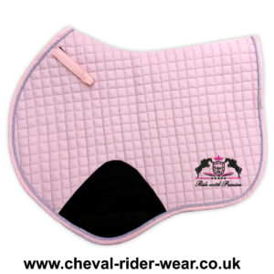 Jumping Saddle Pad Pink CRW