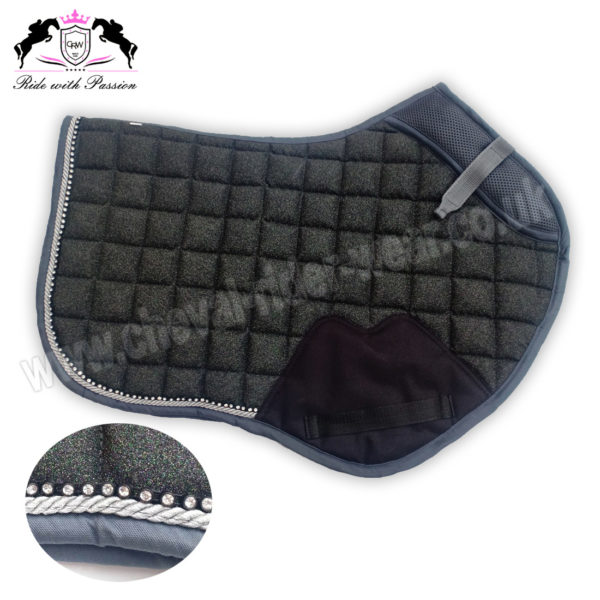 Glitter Saddle Pads All Over Sparkle Jumping Saddle Pads