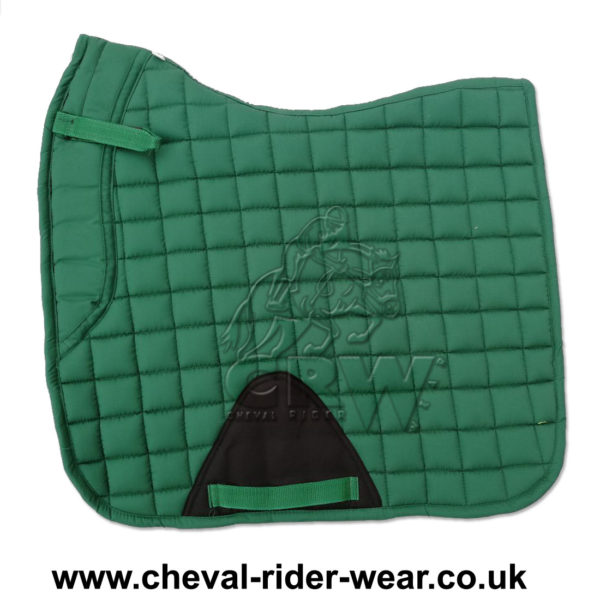 Dressage Saddle Pads Green CRW