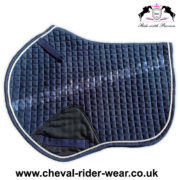 Jumping Saddle Pads Navy CRW