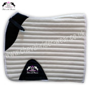 Glitter Saddle Pads All Over Sparkle Saddle Pads Dressage BLUE CRW-1975
