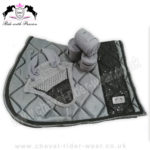Matchy Matchy Saddle Pad Sets GREY CRW