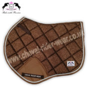 Glitter Saddle Pads All Over Sparkle Jumping Saddle Pads COPPER CRW