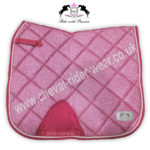 Glitter Saddle Pads All Over Sparkle Dressage Saddle Pads PINK CRW