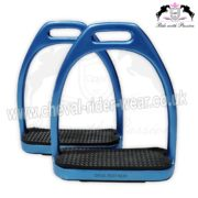 Blue Sparkle Fillis Stirrups Horse Riding CRW-2204