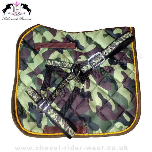 Matchy Matchy Saddle Pad Sets CAMO Saddle Pads CRW-MAT12