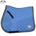 Horse English Saddle Pads Sky Blue CRW-1957