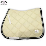 Horse English Saddle Pads Beige CRW-1961