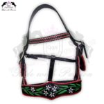 Horse Western Leather Halter CRW