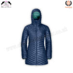 Womens Quilted & Hooded Jackets | Body Warmer Puff Jacket CRW-GIL-9015