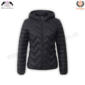 Womens Quilted & Hooded Jackets | Body Warmer Puff Jacket CRW-GIL-9018