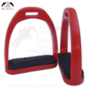 Polymer Stirrups CRW-2259 Red
