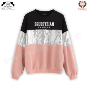 Equestrian Fashion Sweat Shirt CRW-SS-103
