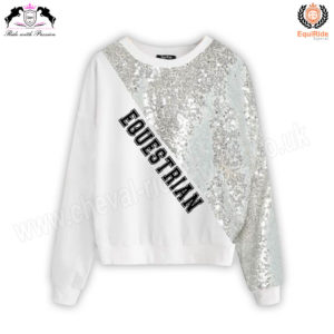 Equestrian Fashion Sweat Shirt CRW-SS-104