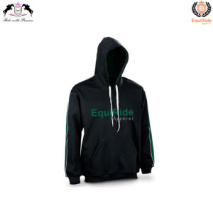 Black Men Hoodies SweatShirts Equestrian Fashion CRW-HOD-001