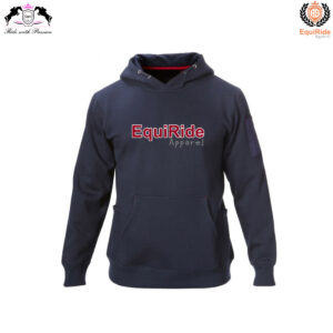 Navy Men's Pullover Hoodies Sweatshirts Equestrian Fashion CRW-HOD-006