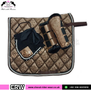 Luxury Floral Pattern Matchy Matchy Saddle Pad Sets CRW-MAT20