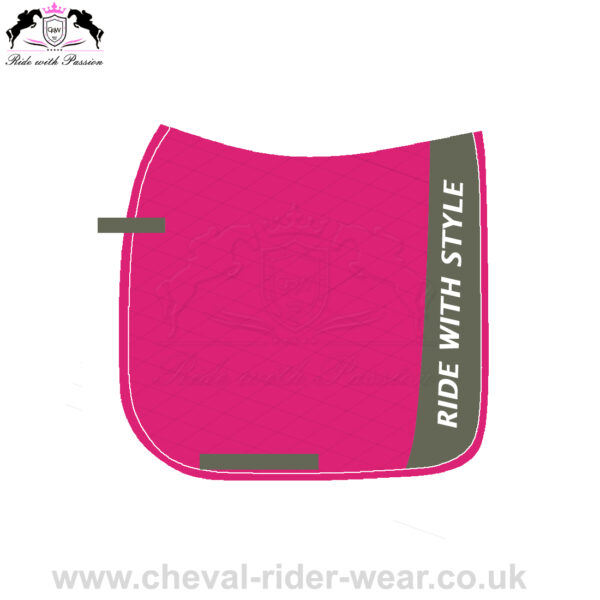 Pink Dressage Saddle Pads Horse Riding CRW-1979