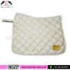 Luxury Floral Pattern Dressage Saddle Pads CRW-1985 Off White