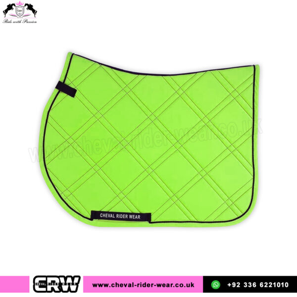 Green Fluorescent Saddle Pads Horse Riding CRW-1990