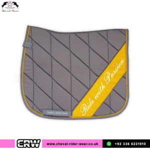 English Horse Saddle Pads Grey CRW-1991